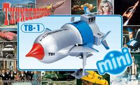 Aoshima: Thunderbird TB-1 - Mini Model Kit