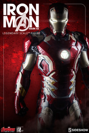 Marvel: Iron Man (Mark 43) - Legendary Scale Statue