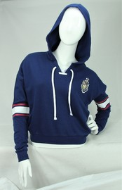 Hogwarts Varsity - Lace-Up Hoodie (Medium)