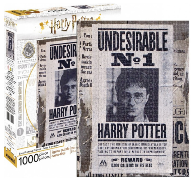 Harry Potter: 1,000 Piece Puzzle - Undesirable No.1