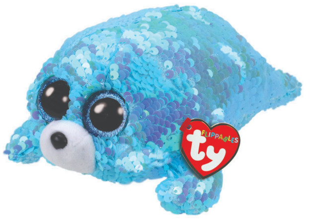 Ty Flippables: Waves Seal - Small Plush