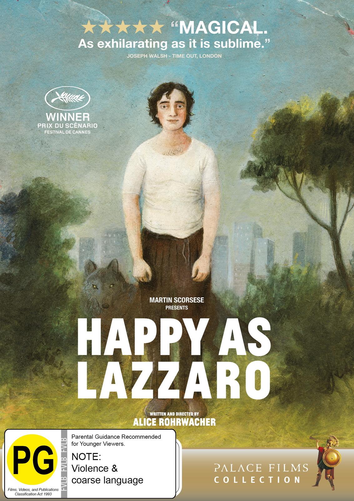 Happy As Lazzaro on DVD image