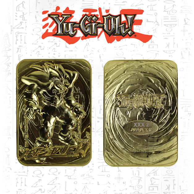 Yu-Gi-Oh: Metal Card (24K Gold Plated) - Exodia the Forbidden One