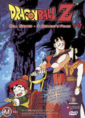Dragon Ball Z 3.17 - Cell Games - A Moments Peace on DVD