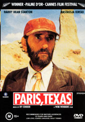 Paris Texas on DVD