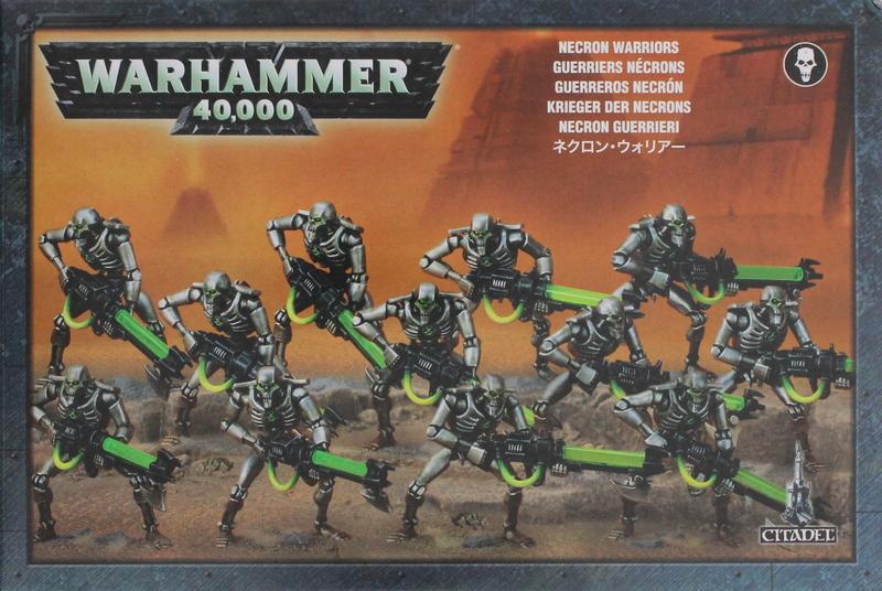 Warhammer 40,000 Necron Warriors | at Mighty Ape Australia