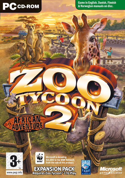 Zoo Tycoon 2: African Adventure Expansion Pack for PC