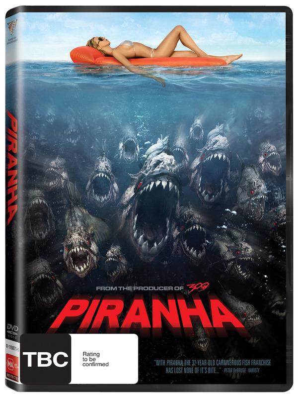 Piranha on DVD