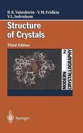 Modern Crystallography 2 by Boris K. Vainshtein