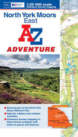 North York Moors (East) Adventure Atlas by Geographers A-Z Map Company