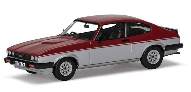 Corgi: 1/43 Ford Capri Mk3 1.6 Calypso - Diecast Model