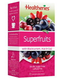 Healtheries Superfruits with Blackcurrant, Acai & Goji (Pack of 20)