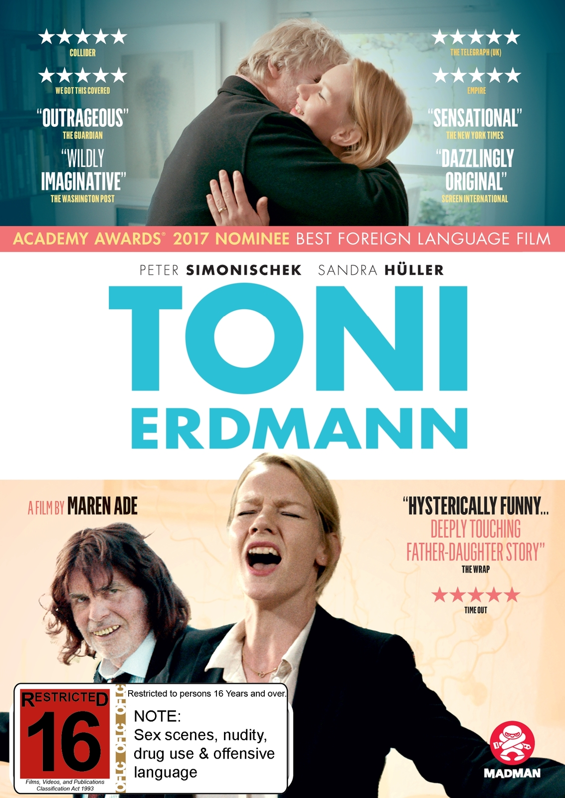 Toni Erdmann on DVD image