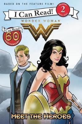 Wonder Woman: Meet the Heroes by Steve Korte image