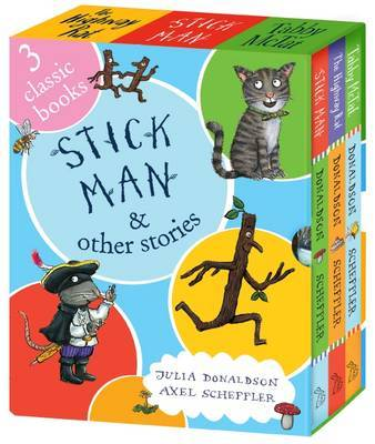 Stick Man and Other Stories Box Set (3 Books) by Julia Donaldson image