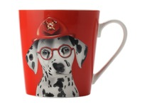 Christopher Vine - Mini Mob The Costume Party Mug Leo Red (350ml)