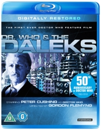 Doctor Who & the Daleks on Blu-ray