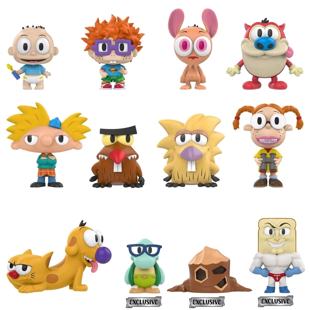 Nickelodeon - Mystery Minis Figure - [GS Ver.] (Blind Box)