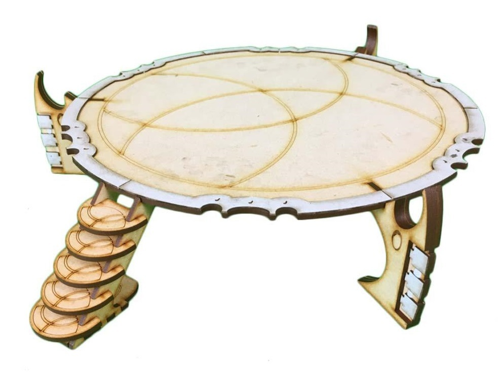 TTCombat: Tabletop Scenics - Space Elf Landing Pad image