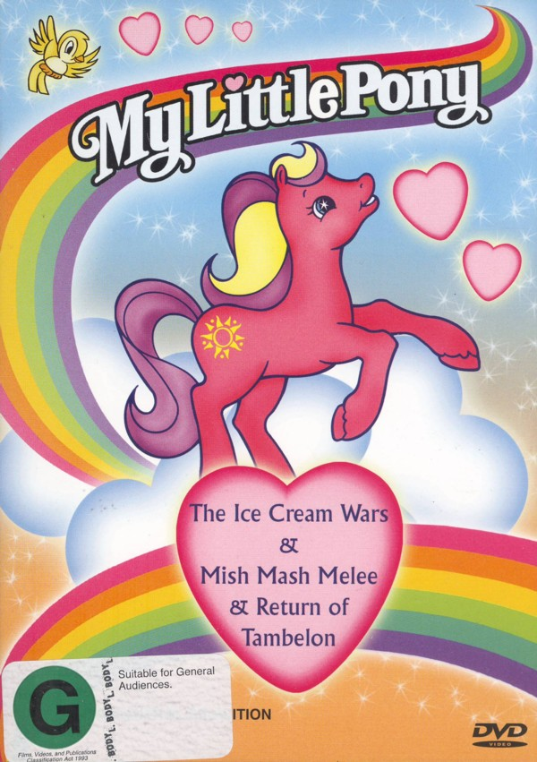 My Little Pony - Ice Cream Wars/Mish Mash Melee/Return Of Tambelon on DVD image
