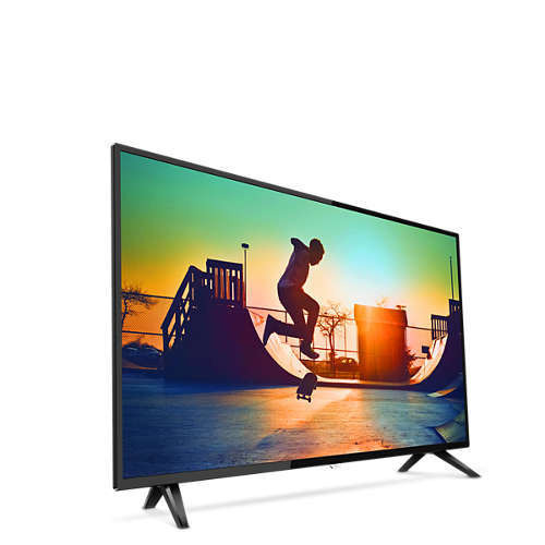"Philips: 6133 Series 50"" 4K HDR Smart TV - 3X HDMI , 2X USB , Wifi & RJ45 image"