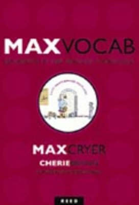 Max Vocab: Journeys in the English Language by Max Cryer image