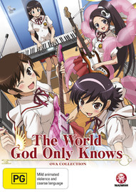 The World God Only Knows: Ova Collection on DVD