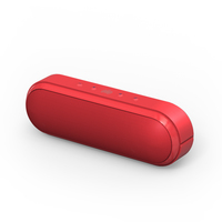 Ministry of Sound Audio S Portable Bluetooth Speaker (Red)