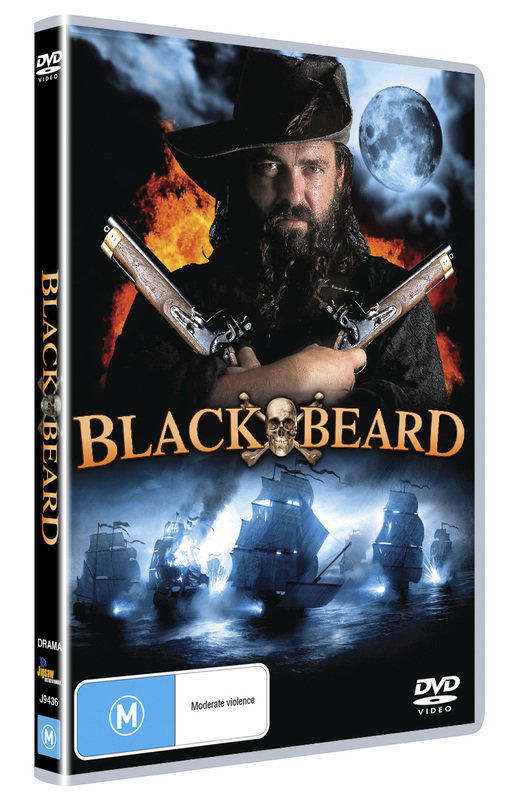 Blackbeard on DVD