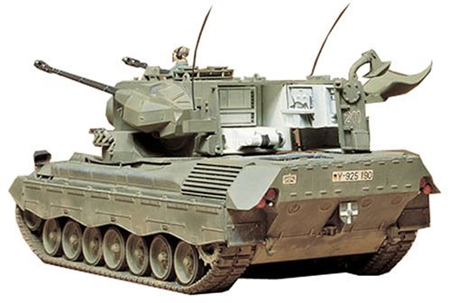 Tamiya 1/35 West German Flakpanzer Gepard - Model Kit image