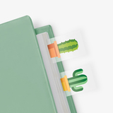Cactus in a Book - Themed Page Markers (100 sheets)