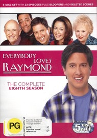 Everybody Loves Raymond - The Complete Season 8 (5 Disc Set) on DVD image