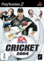 Cricket 2004 for PlayStation 2
