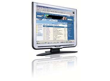 "Philips 19"" 190C7FS Silver Consumer LCD Monitor"