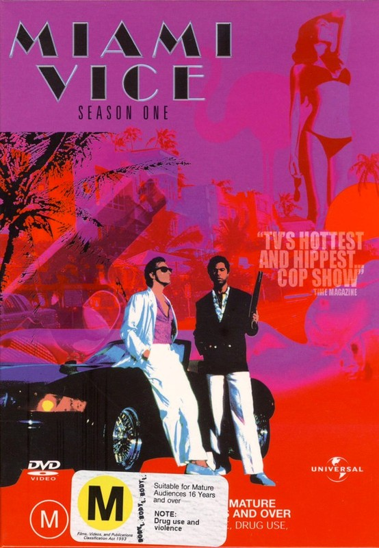 Miami Vice - Season 1 (8 Disc Set) on DVD