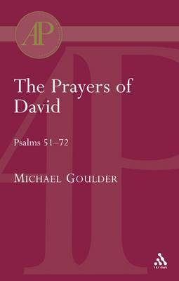 The Prayers of David by Michael D Goulder image