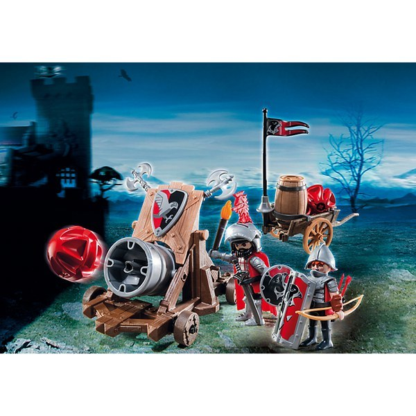 Playmobil: Hawk Knight's Battle Cannon(6038) image