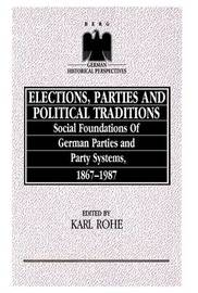 Elections, Parties and Political Traditions