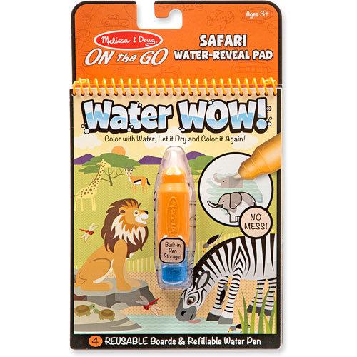 Melissa & Doug: Water Wow - Safari Water Reveal