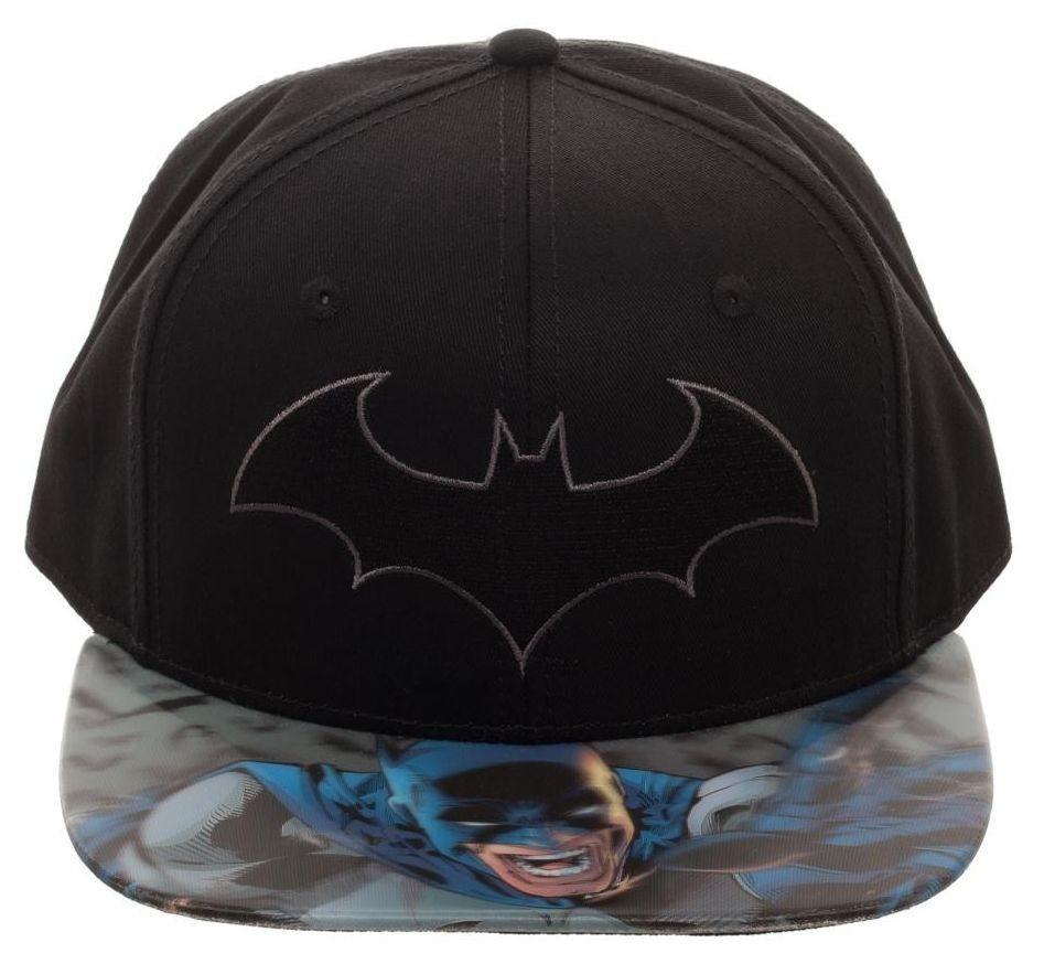... DC Comics  Batman Lenticular Bill - Print Snapback Cap image ... 176161d6f42