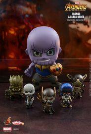 Avengers: Infinity War - Thanos Team Cosbaby Figure Set