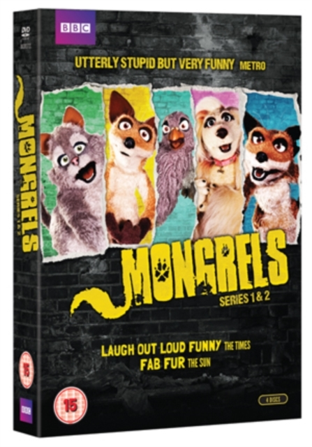 Mongrels Series 1-2 Boxset DVD on DVD
