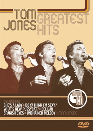 Tom Jones - Greatest Hits (DVD And CD) on DVD image