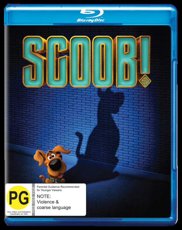 SCOOB! on Blu-ray