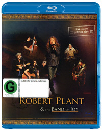 Robert Plant & The Band of Joy: Live At The Artist's Den DVD