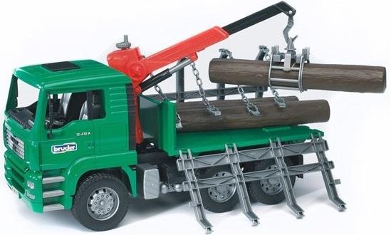 Bruder MAN Logging Truck
