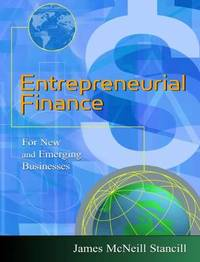 Entrepreneurial Finance by James Stancill image