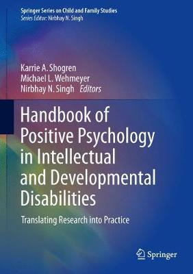 Handbook of Positive Psychology in Intellectual and Developmental Disabilities image