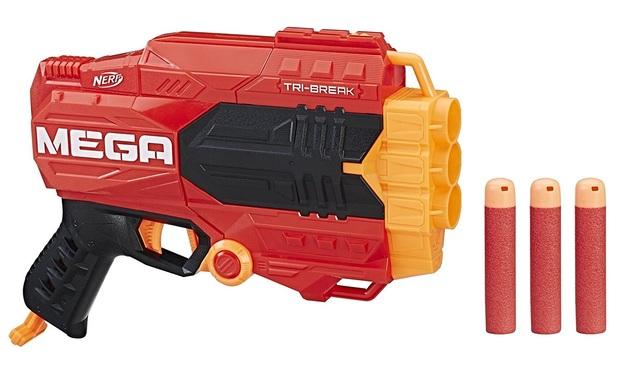 Nerf Mega - Tri Break Blaster