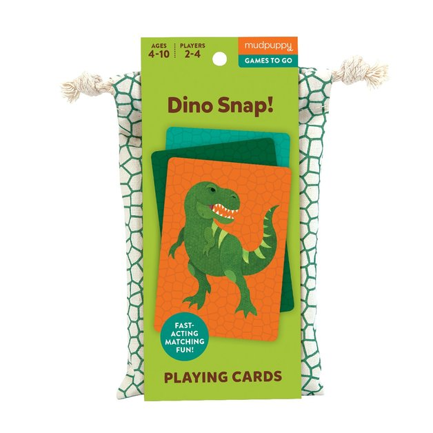 Mudpuppy: Dino Snap - Playing Cards